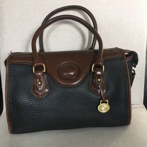 Dooney & Bourke black and brown satchel